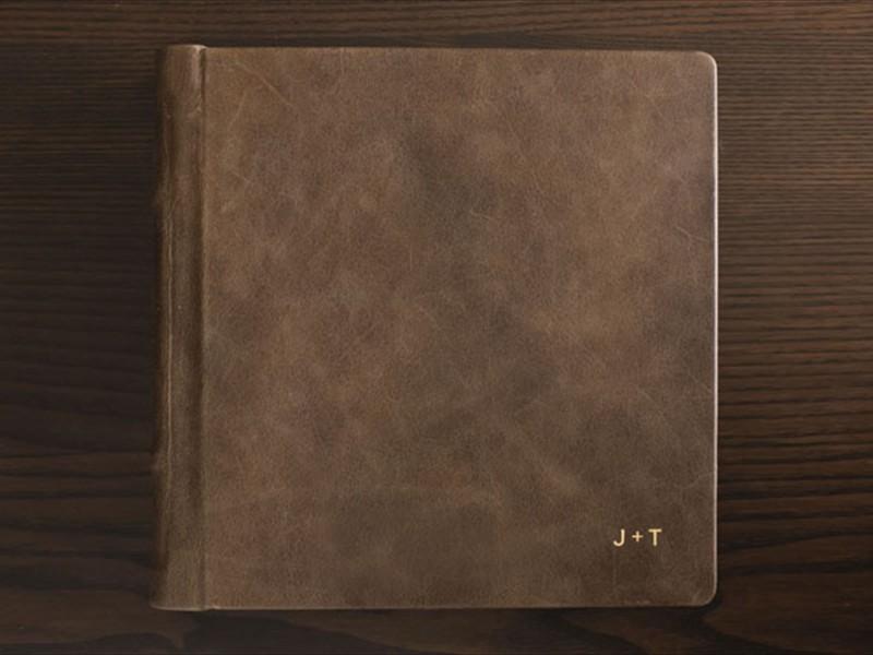 signature leather cover