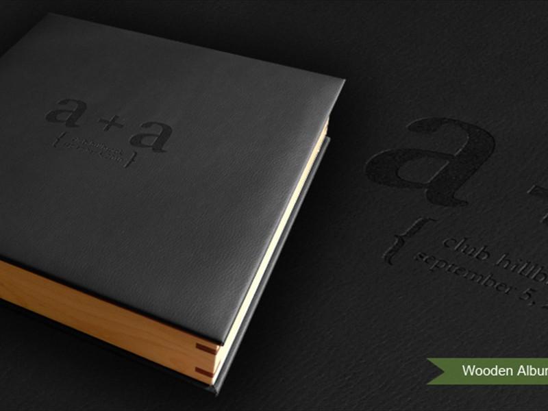 Wooden Album Case (upgrade)