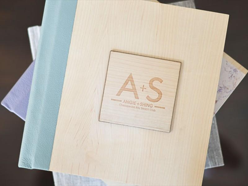 Wooden Engraved Design