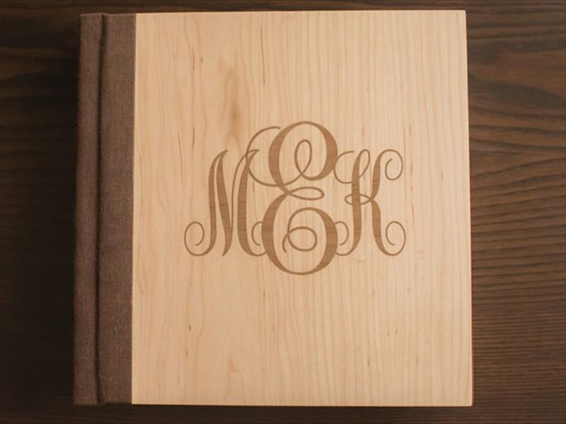 Wooden Monogram Cover