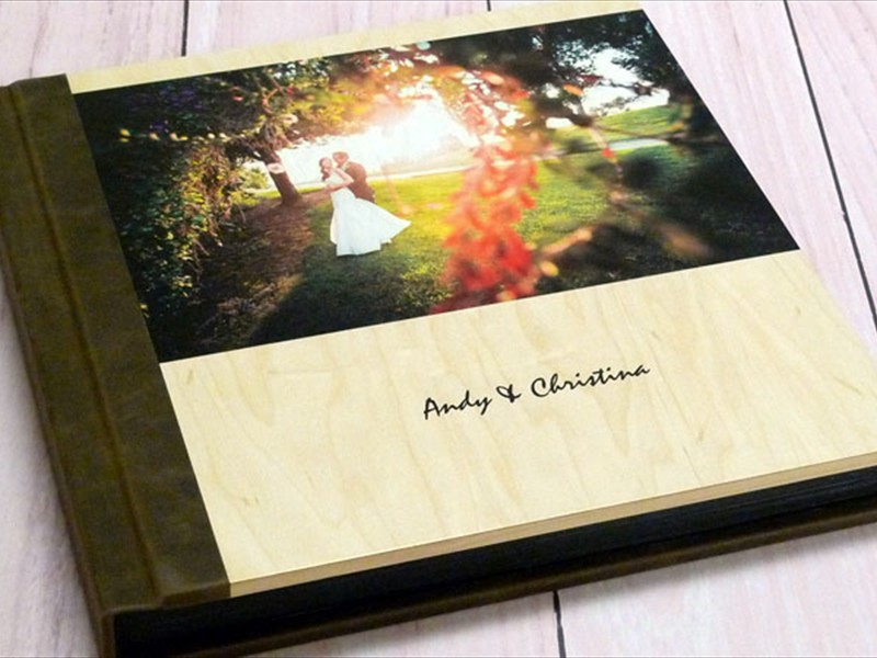 Wooden Printed Photo Cover